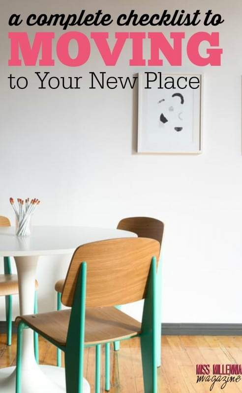 Moving can certainly be daunting, but if you plan ahead it doesn't have to be too stressful! Check out our complete checklist for moving to your new place.