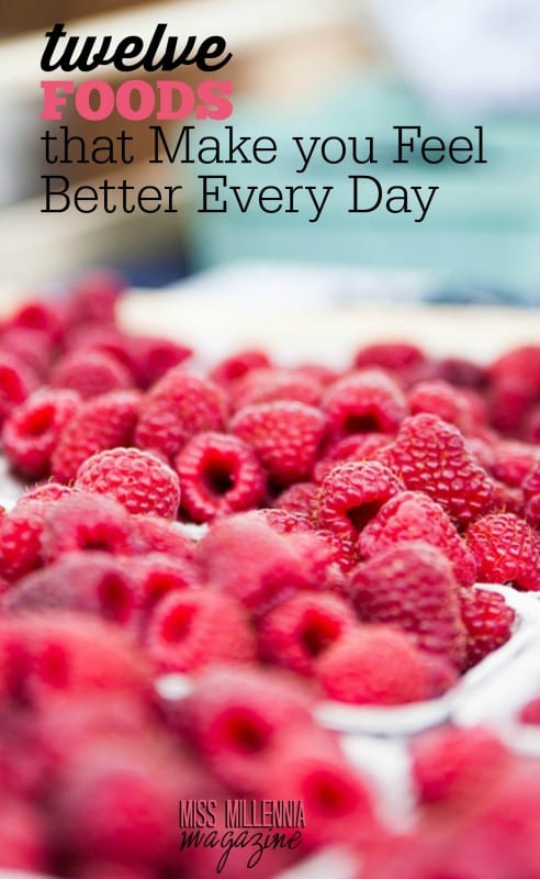 We all know that everything you eat can affect your mind and body. Check out these 12 foods that make you feel better every day!