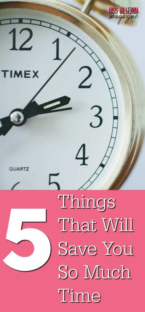 We only have 24 hours in the day, so we have to make the most of what we have. Check out these 5 items that will save you so much time.