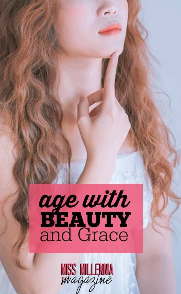 If you are worried about those signs of age, there are few things you can do to make sure that you age with beauty and grace.