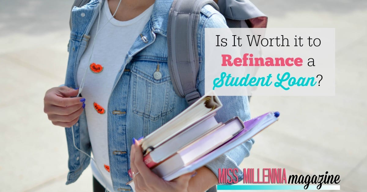 If you are wondering if you should refinance a student loan so you can save money, you should first consider the following items in this post first!