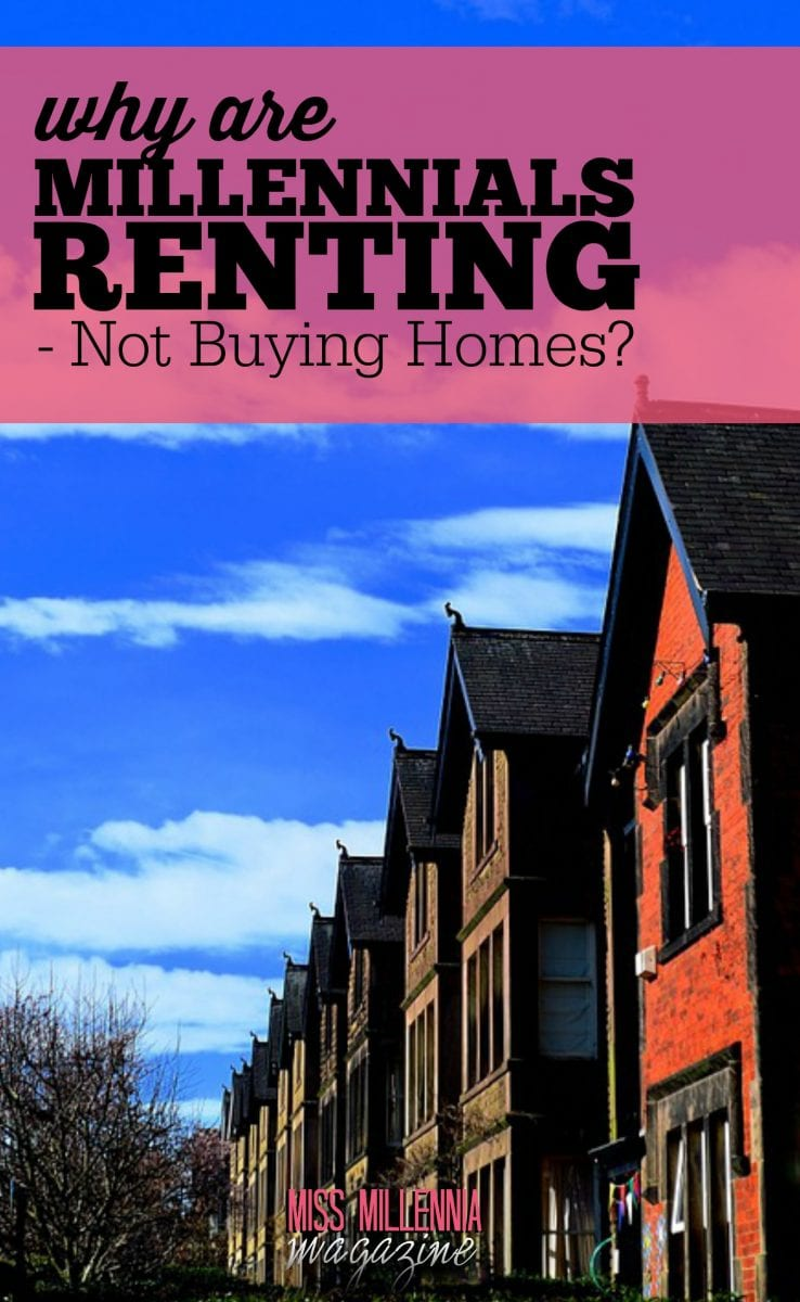 To make my own contribution to this rapid-fire talk, I made a decision to write about what I know especially well: the trend of millennials renting over buying homes.