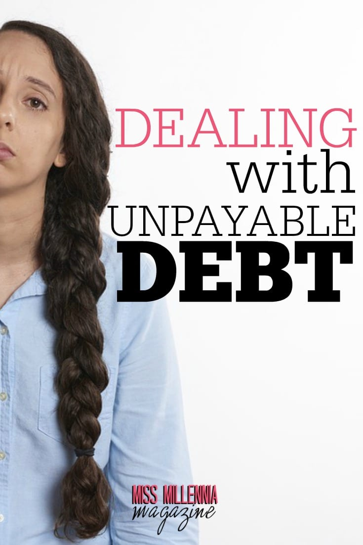 Such a crippling debt can make you feel as if you're drowning. Here are the main steps to dealing with such an unpayable debt.