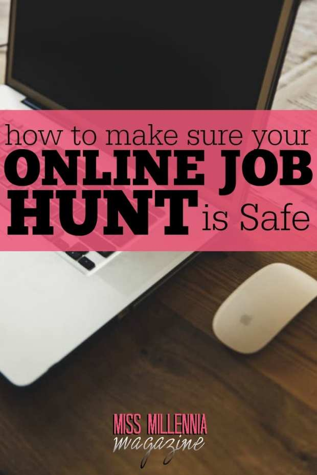 An online job search doesn't come without drawbacks. For security-conscious ones, posting personal data about themselves, through CVs, is a little worrying.