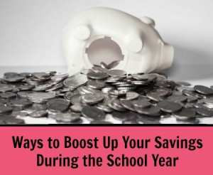 Ways to boost savings