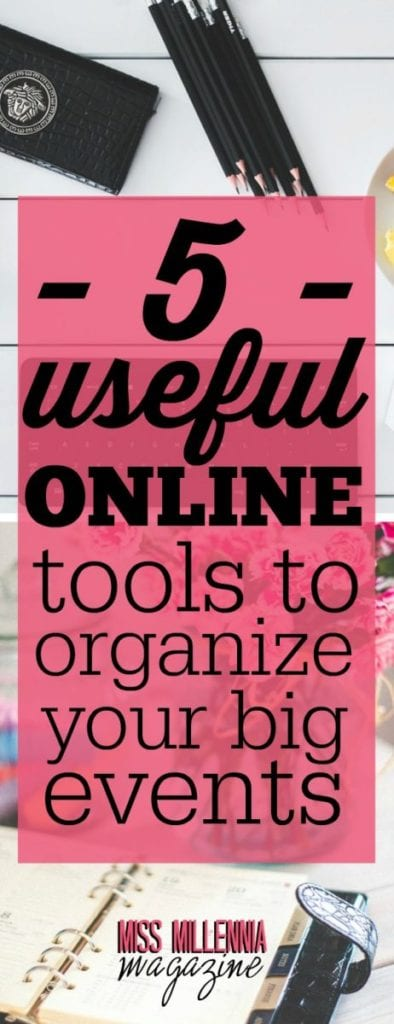 When it comes to organizing an event, it can be a real nightmare. That's why we need to be prepared and use the best online tools to make it easier.
