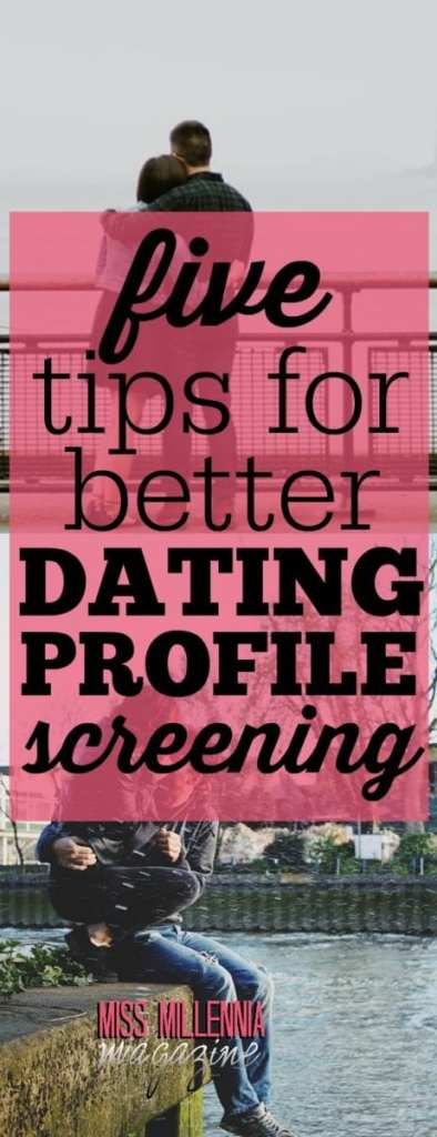 How do you rule a guy in or out? Criteria are personal, but here are a few hard-learned tips for better dating profile screening and how to stick to them.