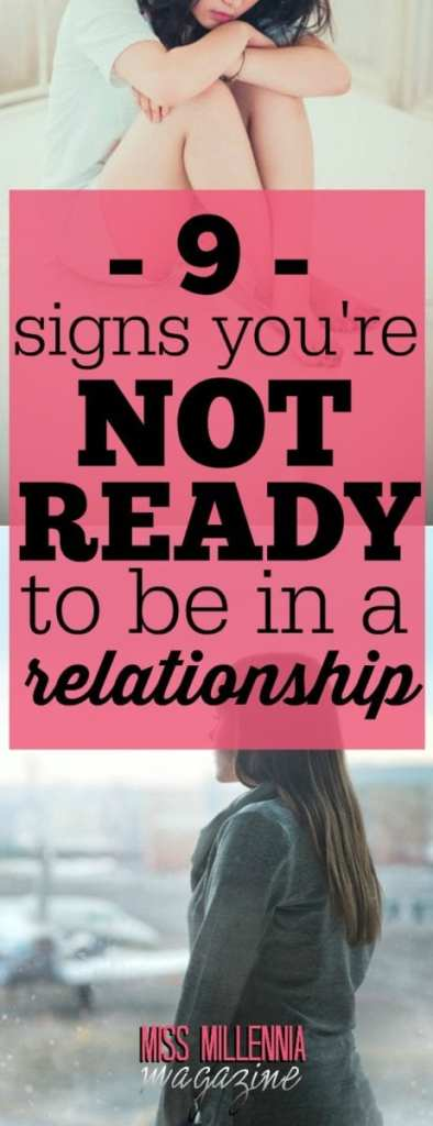 are you ready to be in a relationship