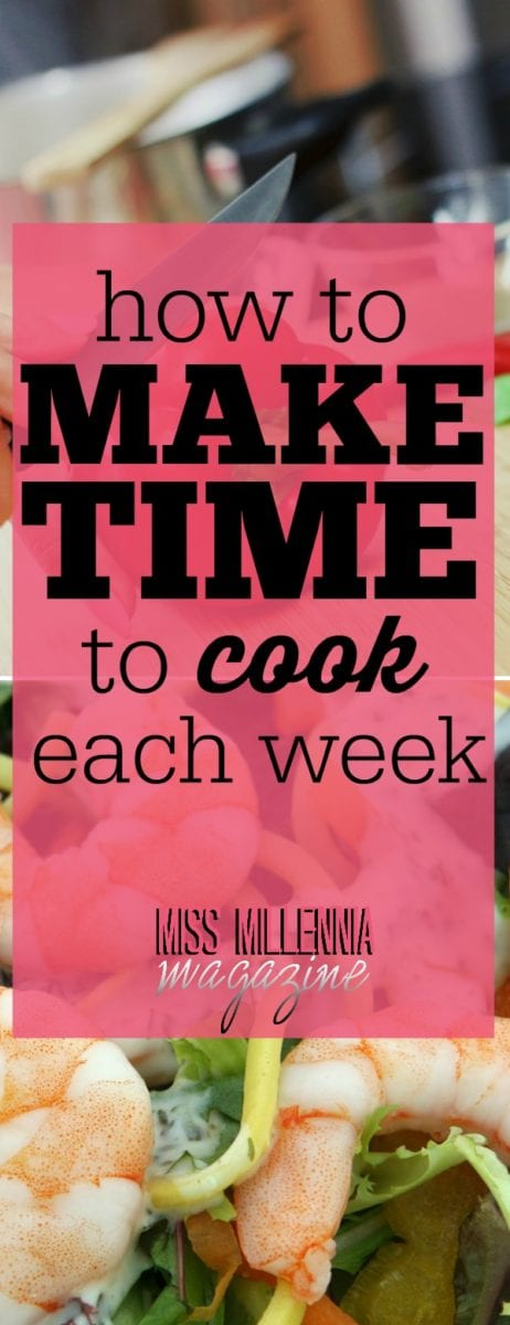 How many times have you planned to cook only to be too tired? Cooking healthy meals at home may be a top priority, but how do you make time to cook?