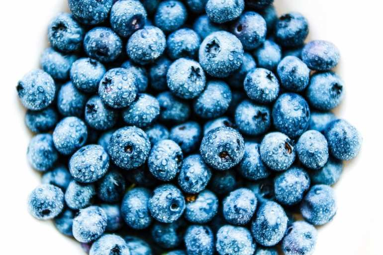 blueberries are perfect for a skin detox