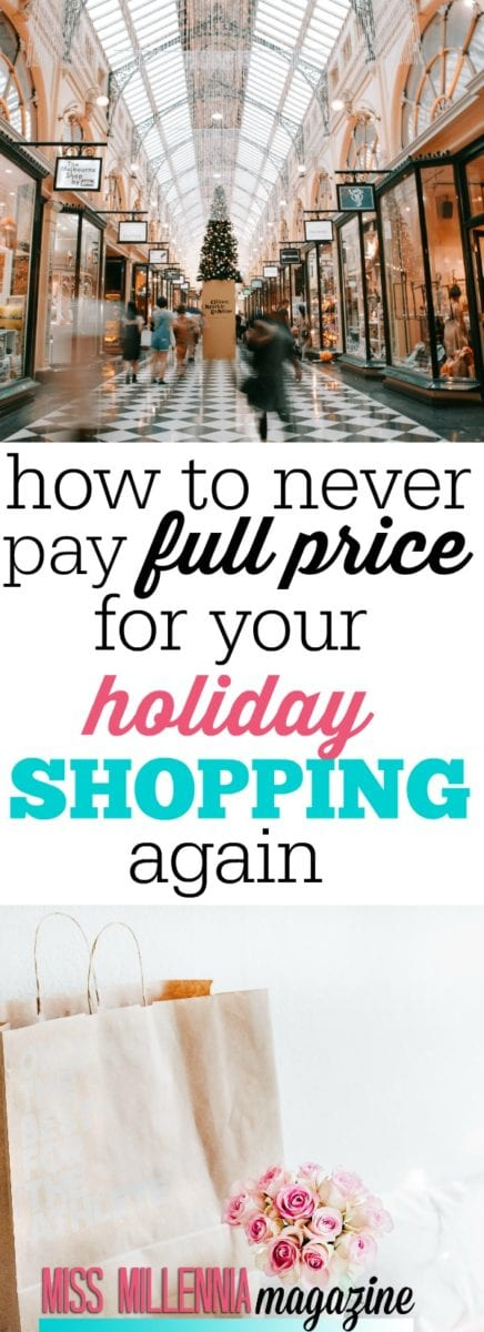 The great thing about holiday shopping is that there are plenty of ways to never pay full price for your items. Use the tips to lessen the financial burden.