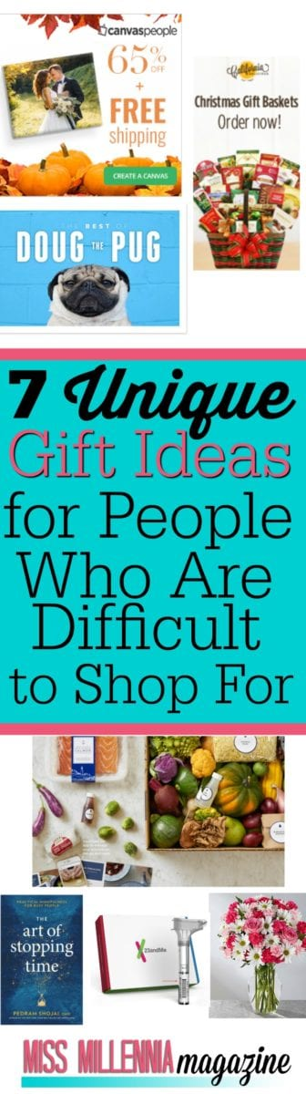 7 Unique Gift Ideas for People Who Are Difficult to Shop For