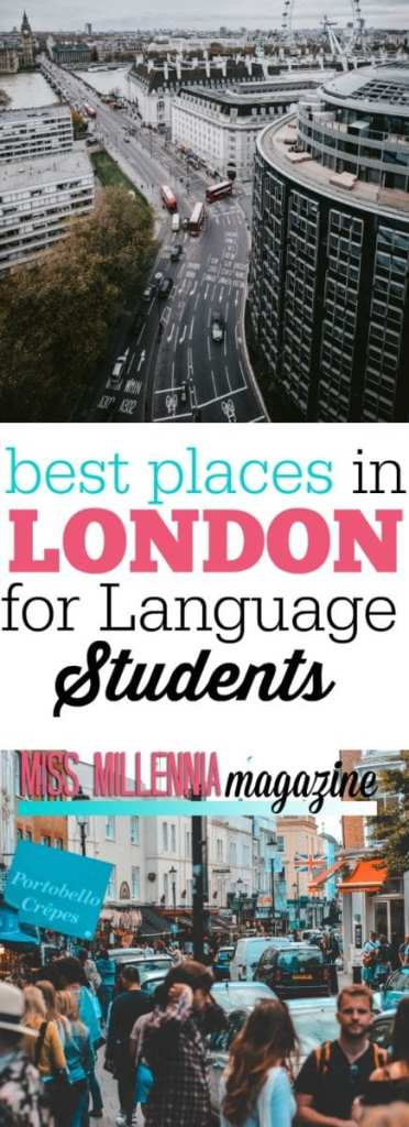 There are places in London that take you away from the familiar tourist places. What better way to learn English than to fall in love with London as you do it?