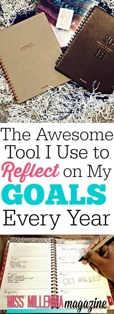 I share the tool I use to reflect on my goals and how you can do this for yourself every year that makes reflecting on my past year even more memorable.