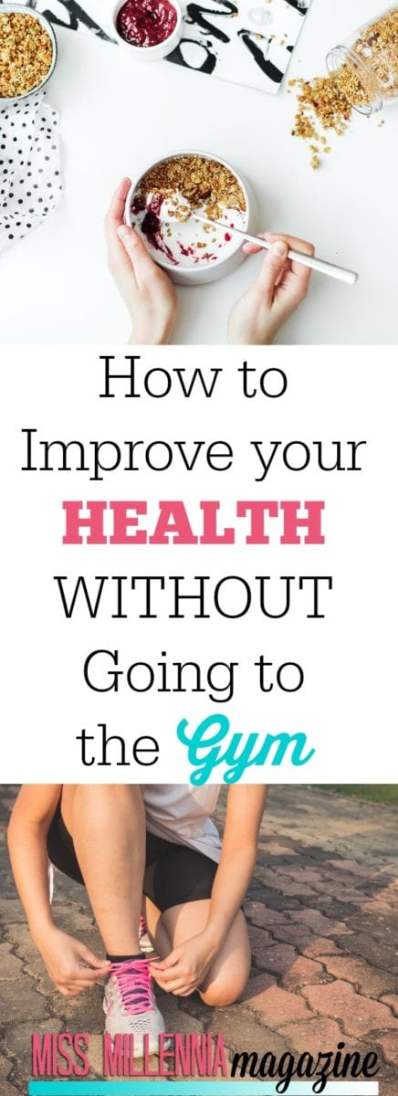 There are so many more aspects of health to consider such as psychological and emotional well-being. This is how to improve your health WITHOUT going to the gym: