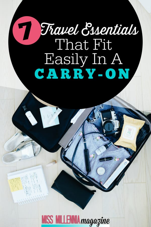 Trying to pack light for a trip but don't want to forget anything? Check out my 7 essential carry-on travel items that won't put you over the baggage limit!