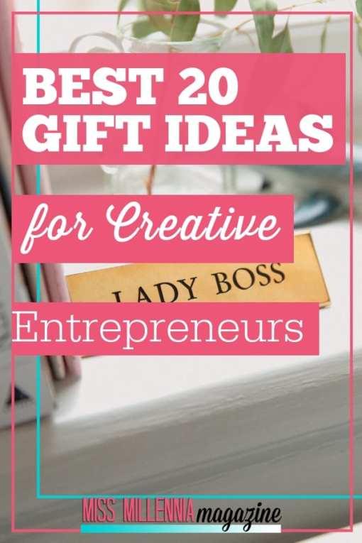Best 20 Gift ideas for Creative Entrepreneurs