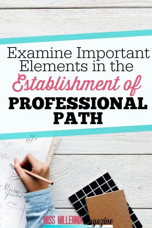 Examine Important Elements in the Establishment of Professional Path