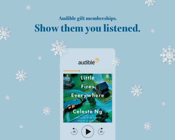 Audible Subscription gift