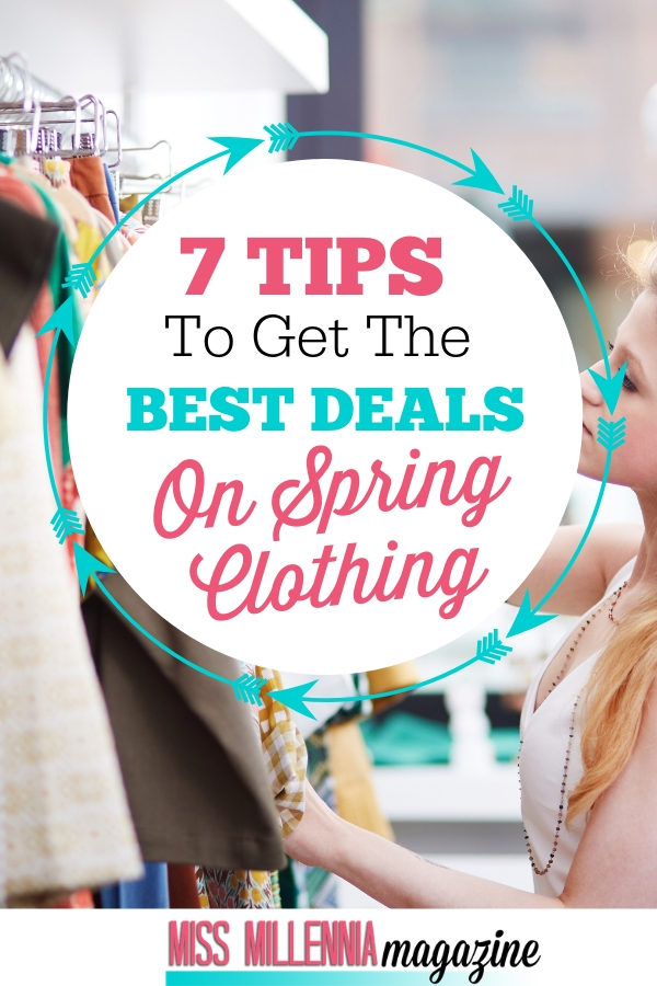7 Tips To Get The Best Deals On Spring Clothing pinkl