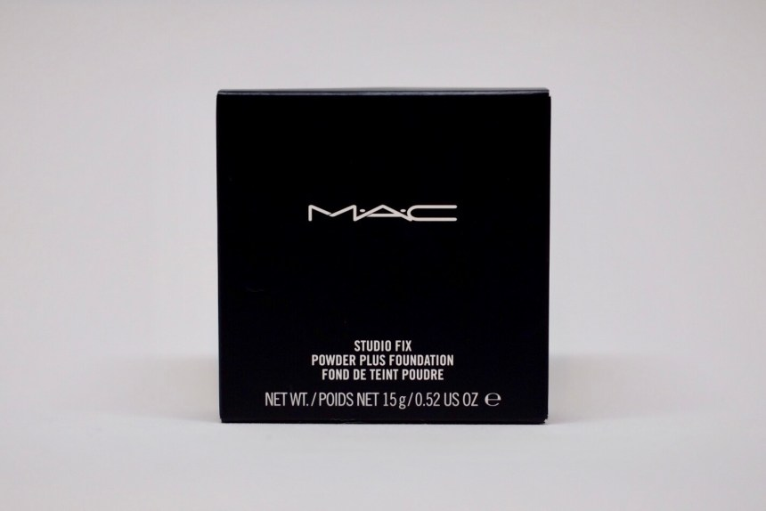 MAC Powder Studio Fix Kartonverpackung