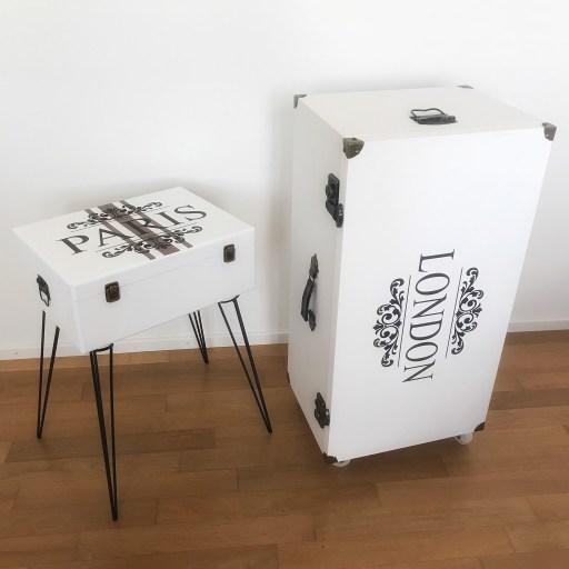 Koffer im Vintagelook