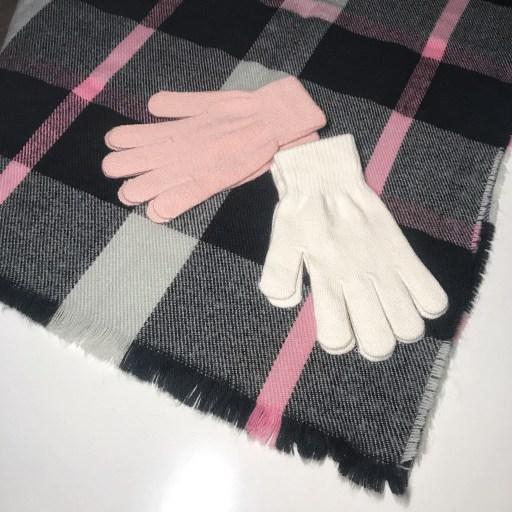 Handschuhe und Schal