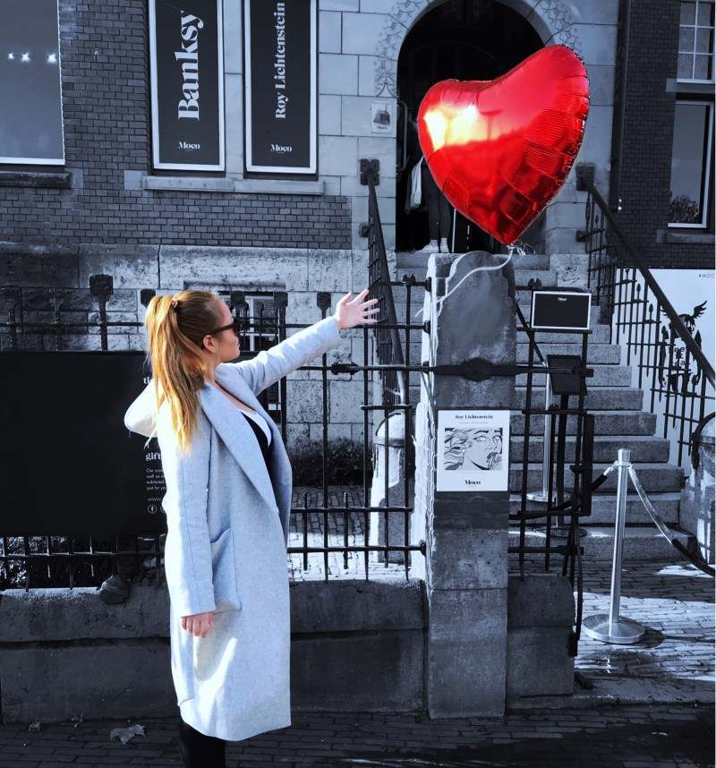 Specials Ballon verschicken - Banksy - Moco Museum Amsterdam