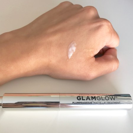 Glamglow plumprageous matte lip treatment 5 Swatch