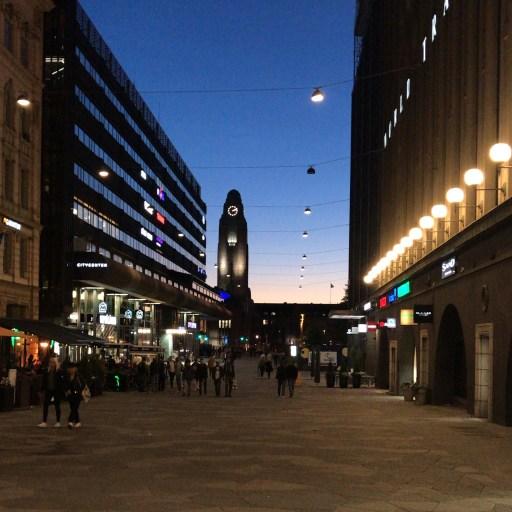 Mitternachtssonne Helsinki - Helle Nächte
