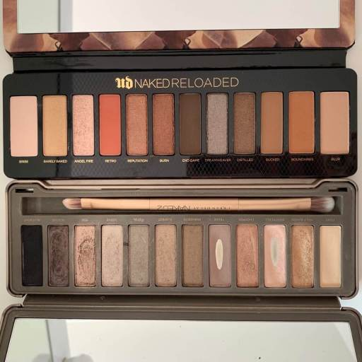 Urban Decay Naked Reloaded Vergleich