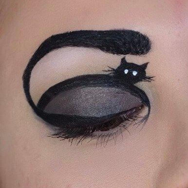 Welt Katzen Tag Look