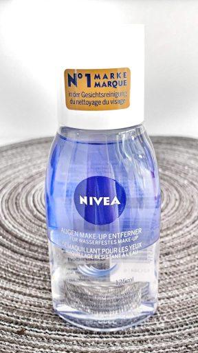 NIVEA Make-up Entferner für wasserfestes Augen Make-up Review Erfahrung