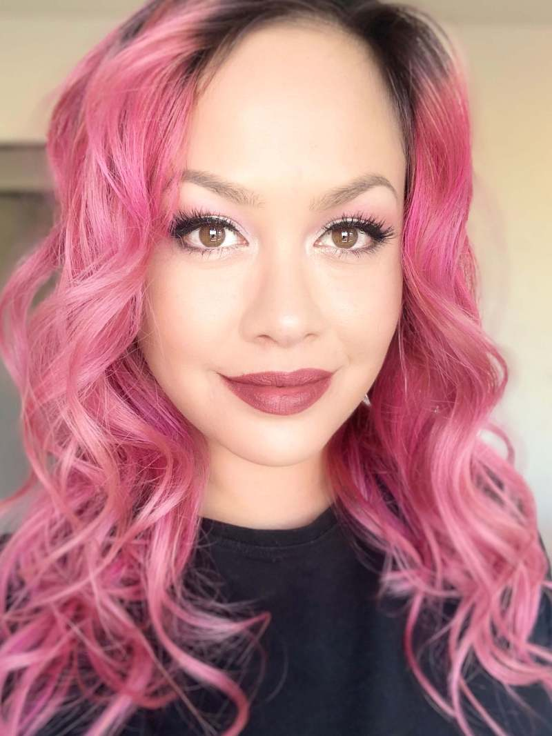 PINK Hair Style