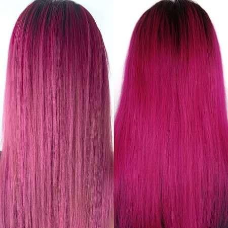 PINK Hair Transformation