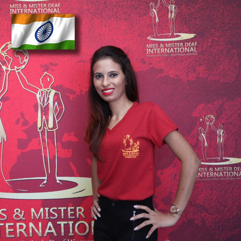 Miss Deaf India (Tejal Khatri)