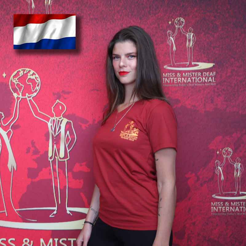 Miss Deaf Netherlands (Marisa Riveria Gocman)