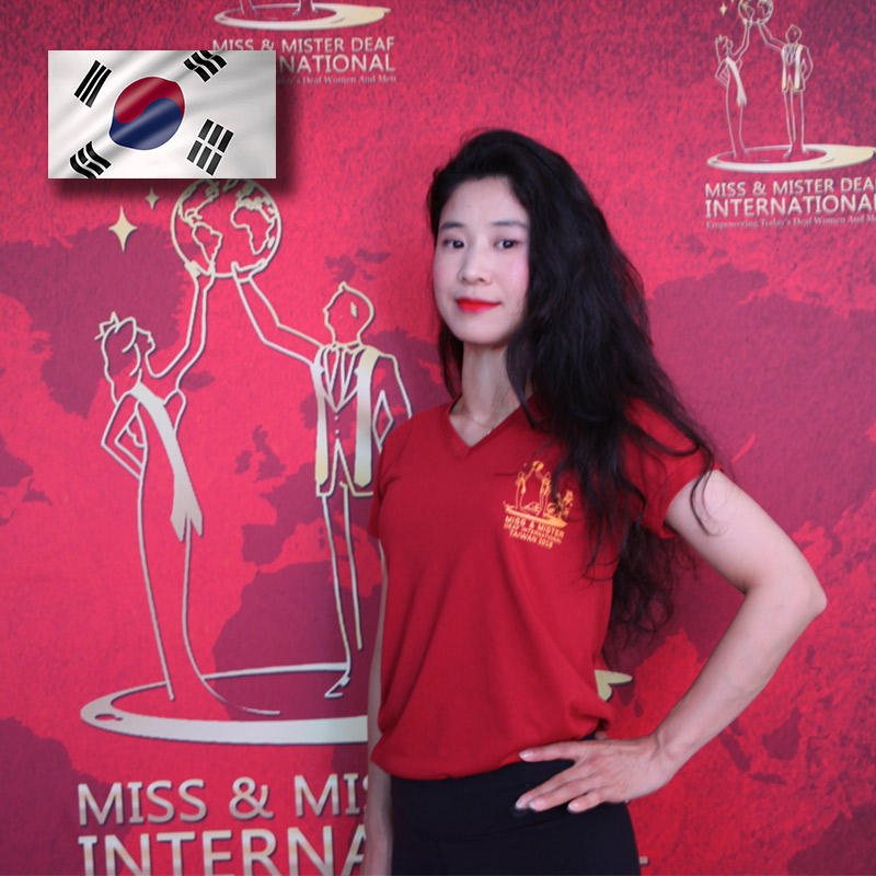 Miss Deaf South Korea (Mei Shan Jiang)