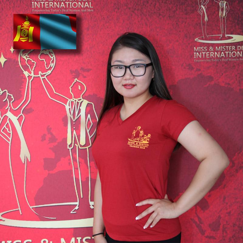 Miss Deaf Mongolia (Nominzul Enhjargal)