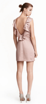 Robe Volants en Satin - H&M - 19,99€