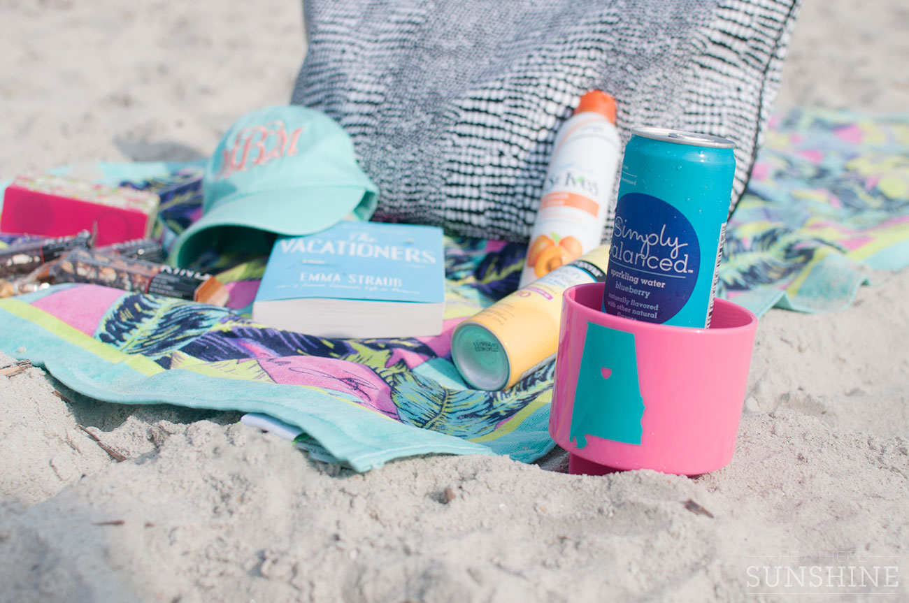 Cold Sparkling Water and a Beach Spiker are must-haves.