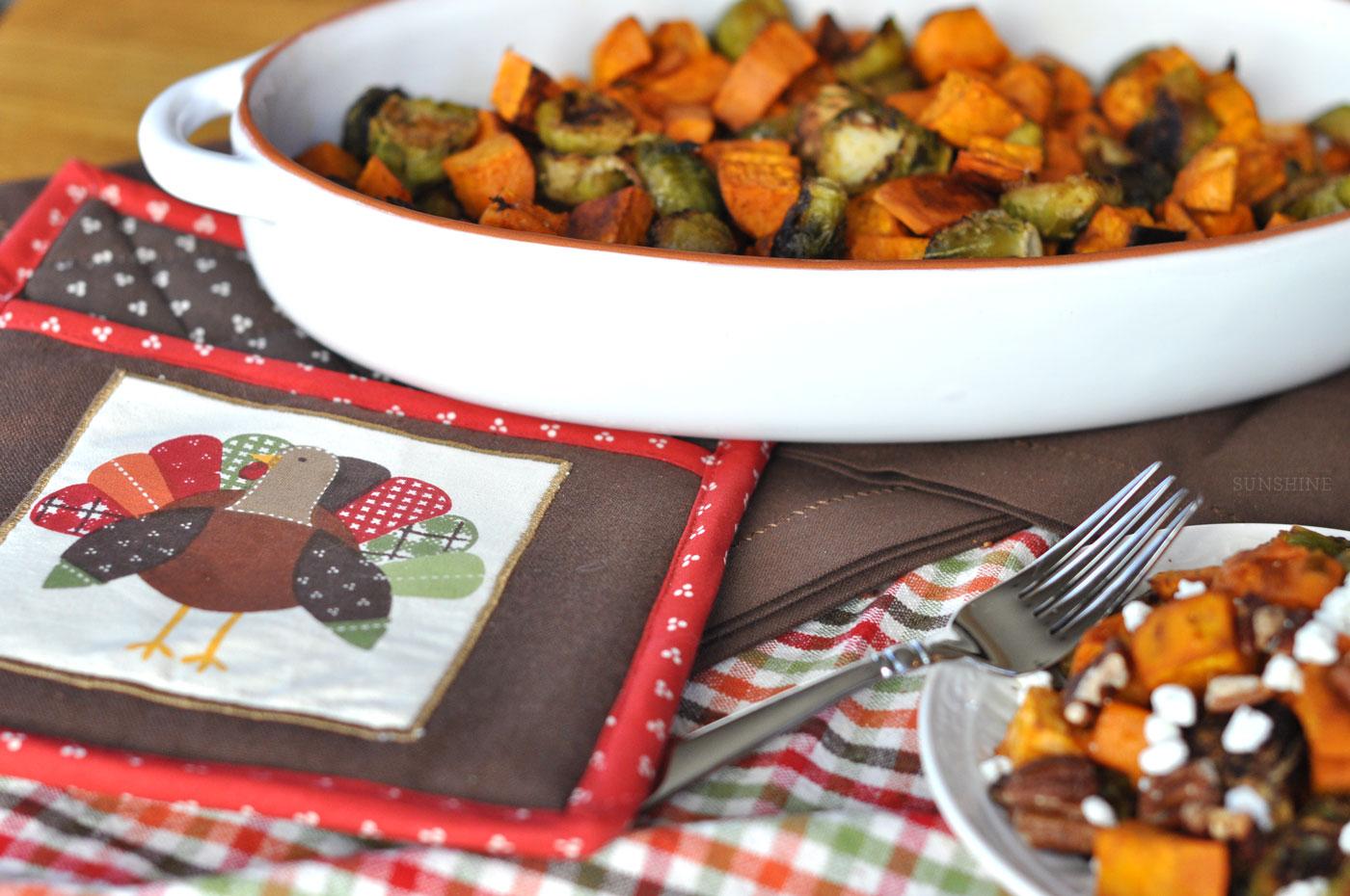 Lighter Thanksgiving Side Dish