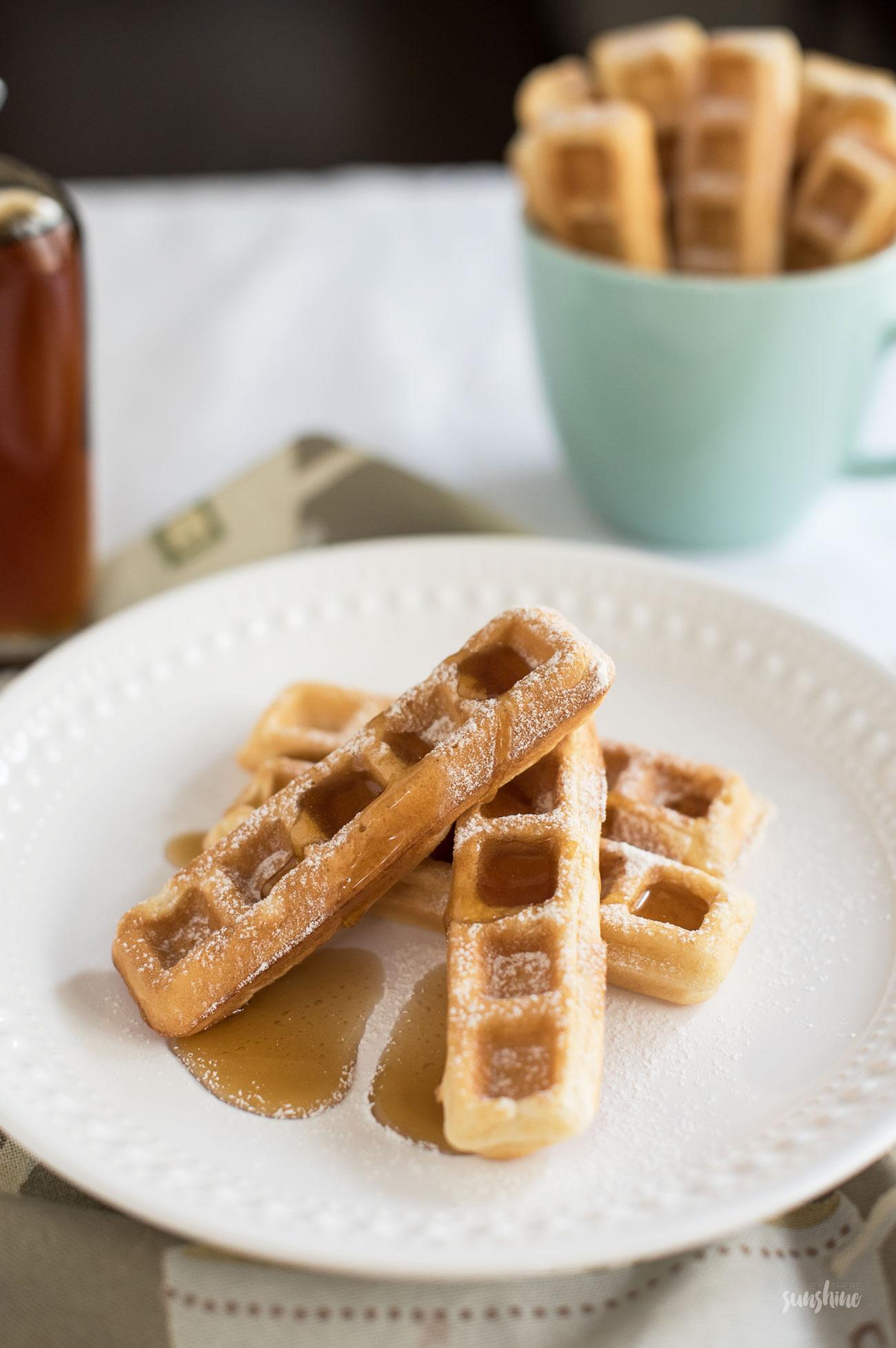 Waffle Recipe, The Henderson Beach Resort