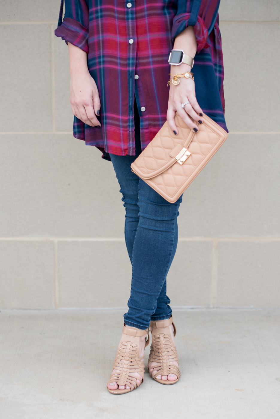 Plaid Tunic for Fall