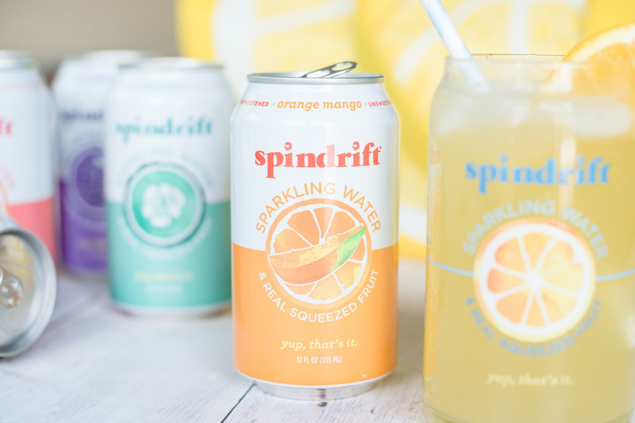 Soaking Up the Last Bit of Summer with Spindrift Seltzer #AD || Miss Molly Moon