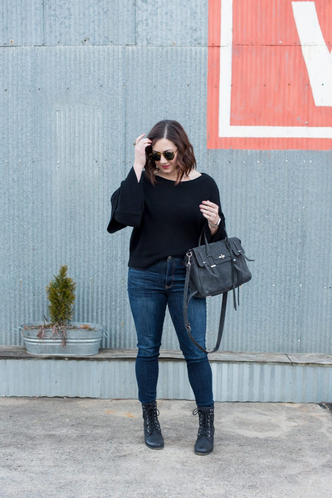 Lightweight Sweaters You Can Transition to Spring // Miss Molly Moon