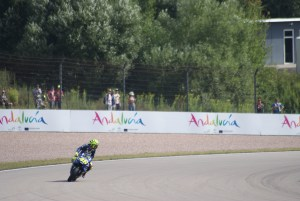 Valentino Rossi - Training am Sachsenring