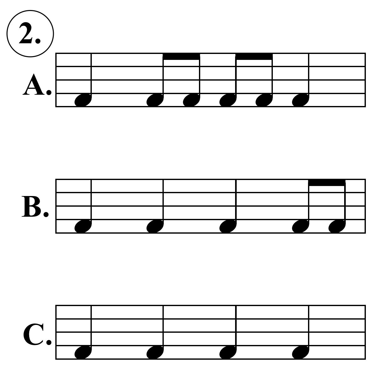 Music 221 Amp 222 Rhythm Listening Exercise