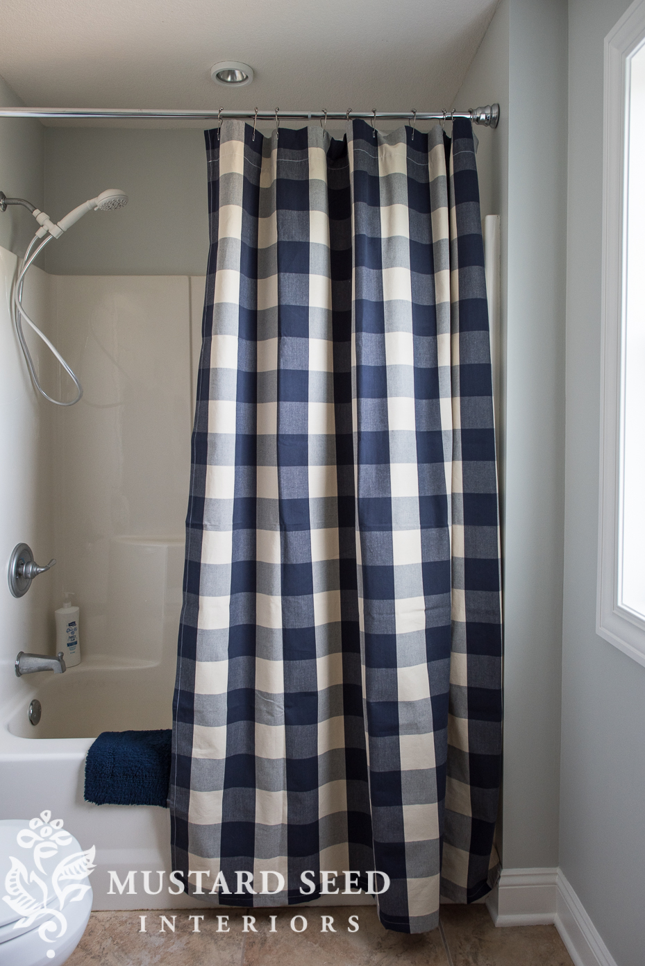 How To Make A Custom Shower Curtain Miss Mustard Seed