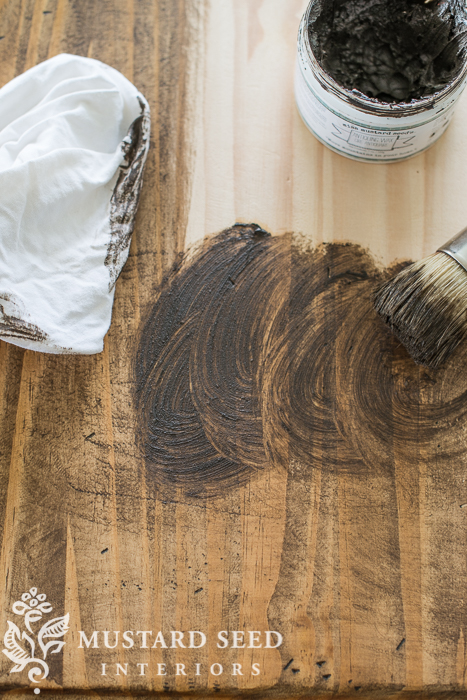 Antiquing Wax Adding Instant Age To Raw Wood Miss